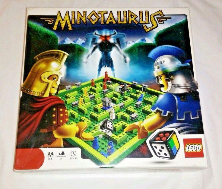 LEGO Minotaurus Game (3841) 2 to 4 players Ages 4 & Up - Legos #LEGO