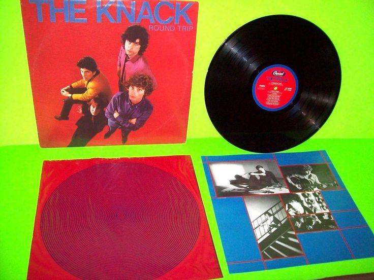 The Knack – Round Trip Vinyl LP Record Album Power Pop New Wave 1981 + Lyrics #1980sNewWavePopRock