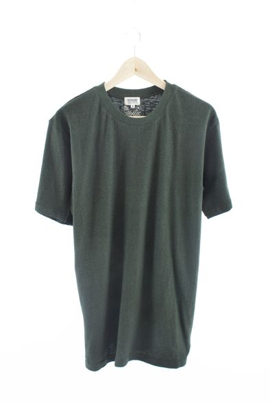 Men's Pocket T-Shirt 55 percent Hemp and 45 percent Organic Cotton. Solid 4 colors. Handmade in USA by Times Hemp Company