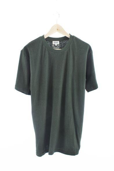 RCM CLOTHING / T-SHIRT BASIC   GREEN  Sustainable Hemp Apparel, 55% hemp 45% organic cotton jersey http://www.rcm-clothing.com/