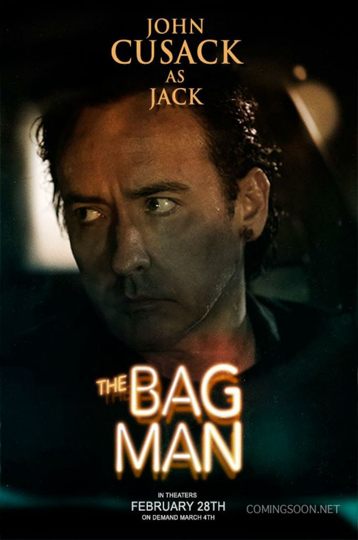 "New ""the Bag Man"" poster, starring John Cusack"