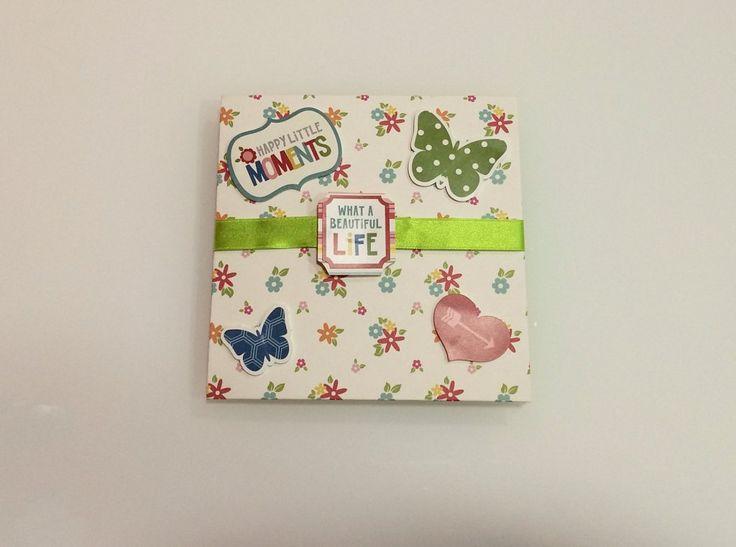 Mini lbum de fotos un regalo muy especial diy y - Manualidades album de fotos ...