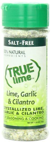 True Lime Shaker, Lime, Garlic and Cilantro, 2.29 Ounce | The Prime Gourmet