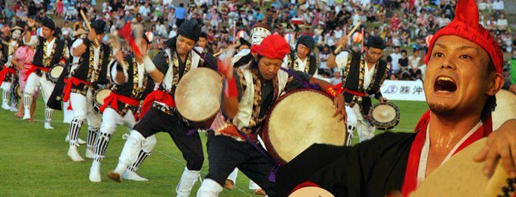 沖縄のエイサー祭り2011