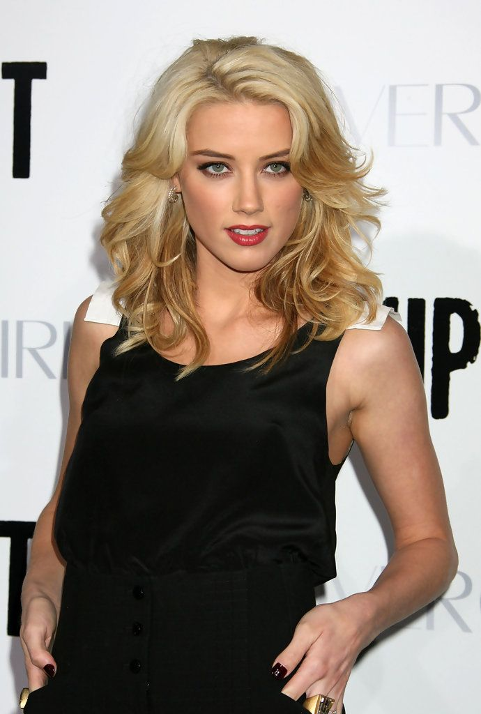 The beautiful Amber Heard