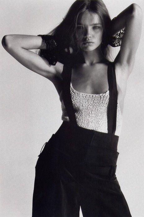 Natalia Vodianova by Mario Sorrenti for Harper's Bazaar US, May 2002.