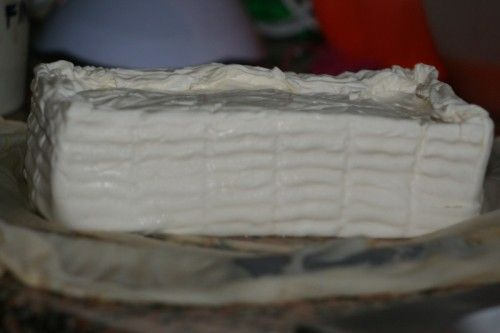 formaggio morbido tipo crescenza e formaggio duro, più ricotta
