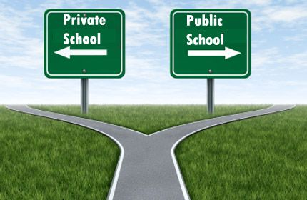 Private versus public. Some differences between public and private schools are obvious. But deciding what's right for your child entails shedding light on the subtle distinctions many parents ignore.http://www.greatschools.org/find-a-school/defining-your-ideal/59-private-vs-public-schools.gs?page=all
