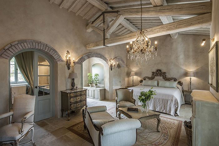 Relais Borgo Santo Pietro. Hotel and restaurant in the country. Italy,Chiusdino. #relaischateaux #borgosantopietro #italy #room #hotel #romantic