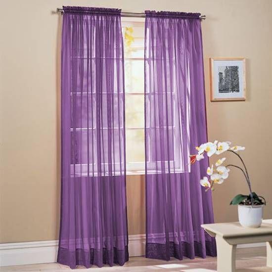 Purple Curtains Http Bedcak Com Wp Content Uploads