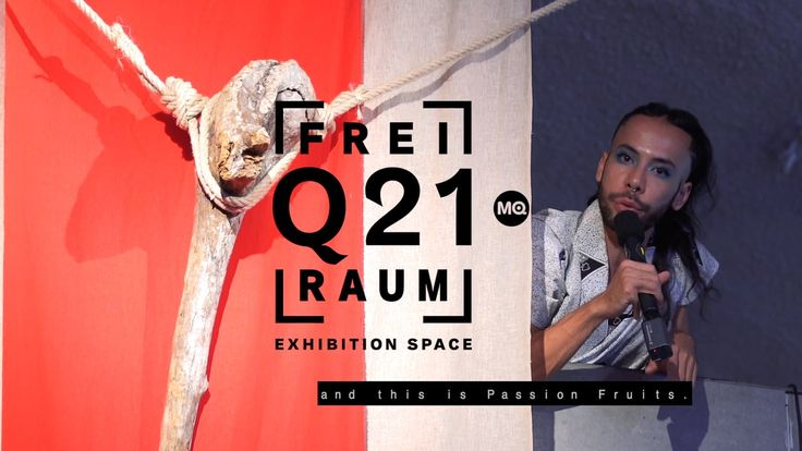"Daniel Lie talks about his installation ""Passion Fruit/Maracujá"" which is displayed as part of the exhibition WELT KOMPAKT? at frei_raum Q21 exhibition space/MQ Wien."