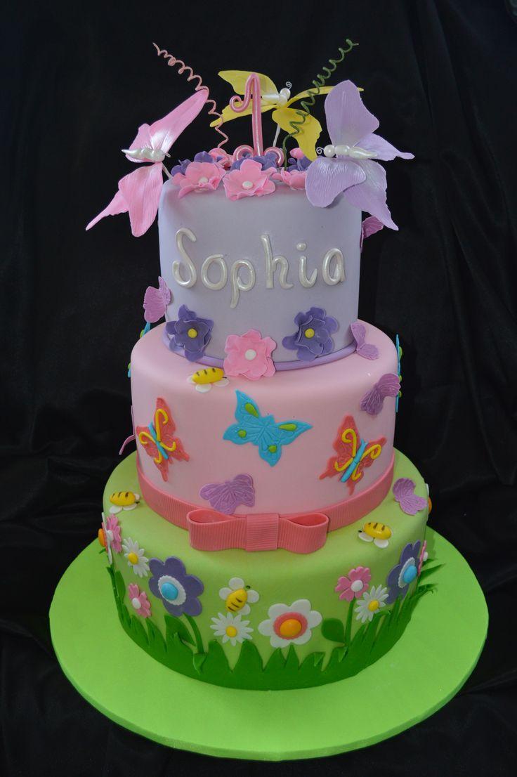 1 St Birthday Cake Girl My Work Birthday Cake Girls