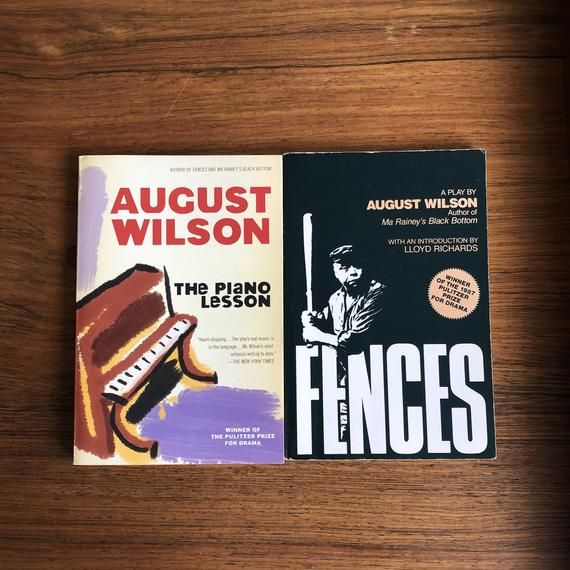 August Wilson Plays Fences And The Piano Lesson 2 Books Etsy August Wilson August Wilson Plays Piano Lessons