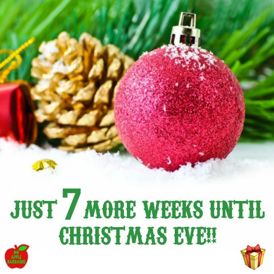 Just 7 more weeks until Christmas Eve!!  ⛄ Great gifts available here: www.BigAppleBargains.ca