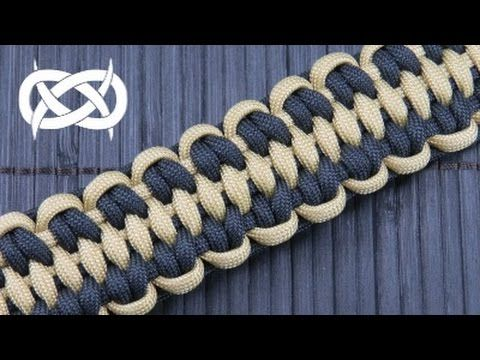 Solomon's Fossil Paracord Bracelet *** source: FusionKnots.com Forum *** Visit…