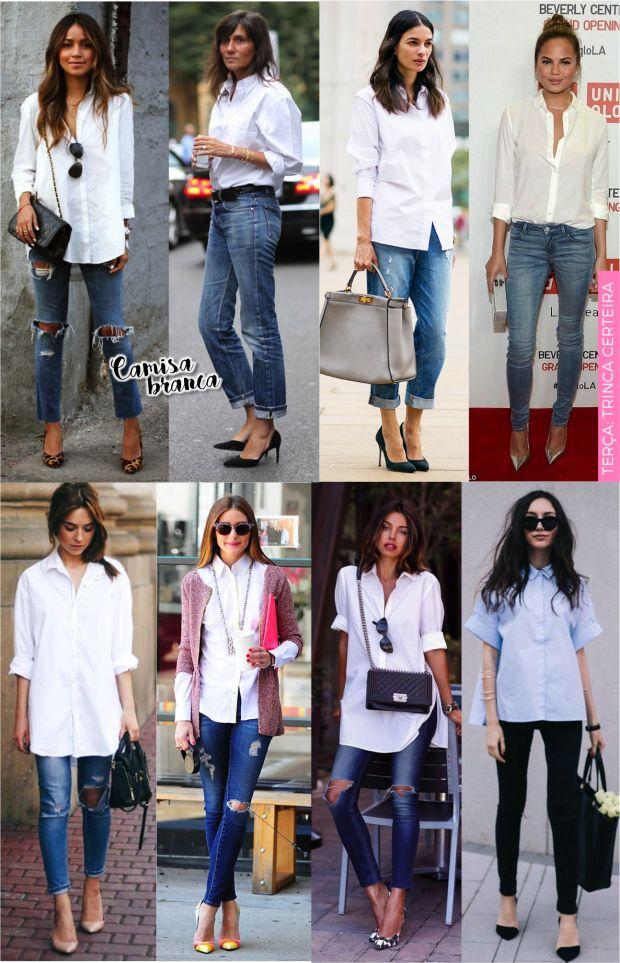 Guia definitivo da camisa branca no trabalho! - Fashionismo