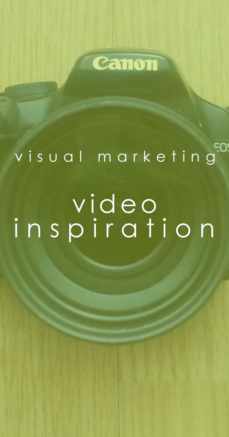 videos are an awesome way to let customers connect with YOU. and there are so many types of videos you can make, with different purposes... different vibes.  #visualmarketing http://www.visualmarketingschool.com/