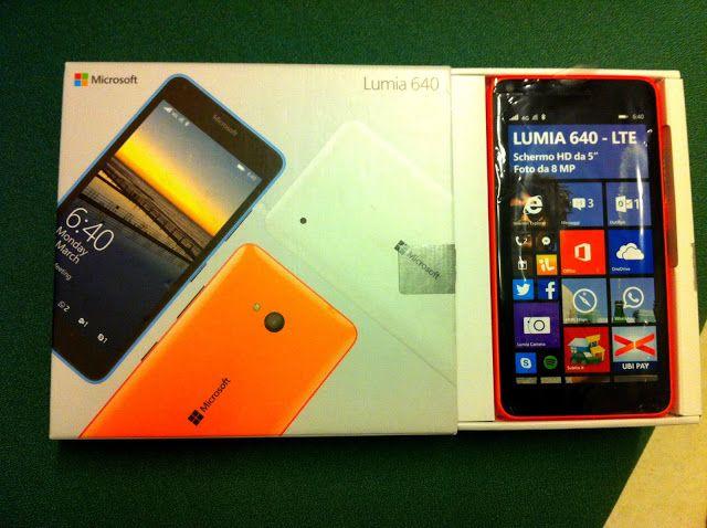 ADESSO SI RISPARMIA: Lumia 640 LTE Microsoft: da provare!