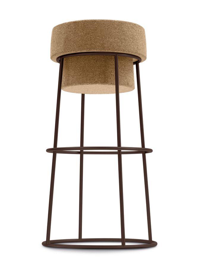 Attractive Bouchon Bar Stool From Sleek Italian Style: Domitalia Furniture On Gilt Nice Design