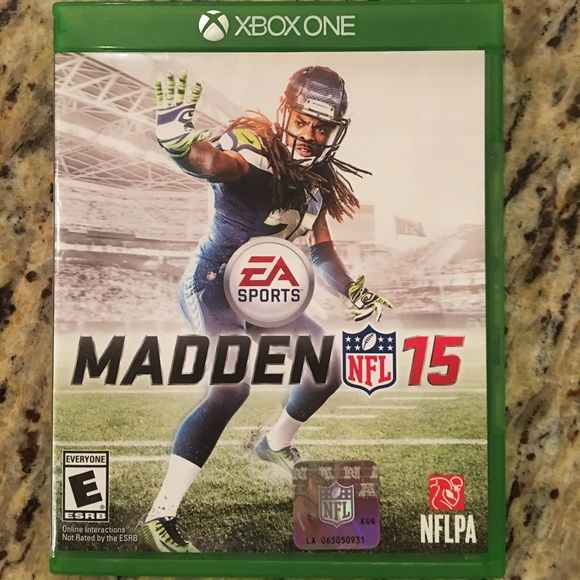 XBOX One Madden 15 Like new condition, Xbox One, Madden 15, could be a great present for half the cost! Xbox One Other