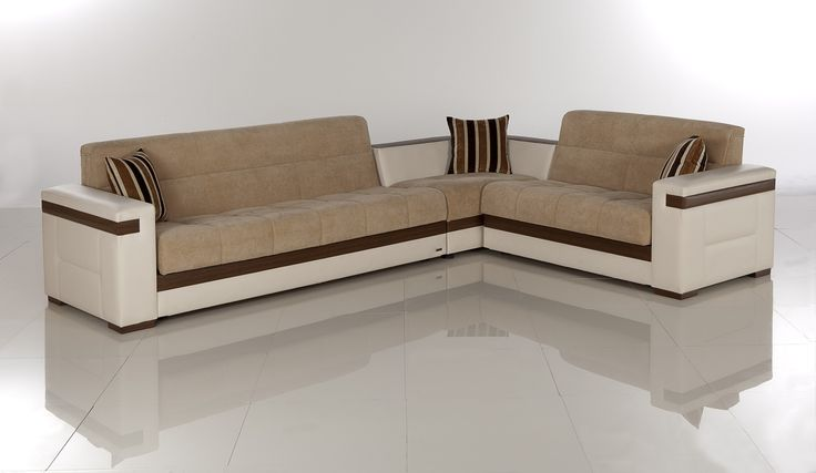 contemporary sleeper sofas | CADO Modern Furniture - MOON Sectional Sleeper Set