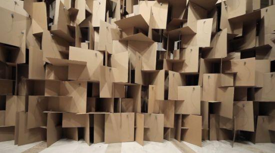 Cardboard fort
