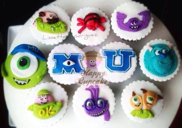 Monster University Cupcakes !