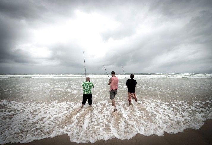 Groomsmen doing a spot of fishing before the wedding Stradbroke Island Photography - North Stradbroke Island - Wedding Gallery