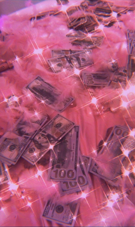 Money Pink Tumblr Aesthetic Iphone Wallpaper Girly Pink Wallpaper Iphone