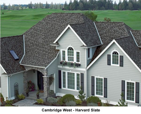 Best Shop Harvard Slate Iko 30 Yr Architectural Shingles – 2Nds 400 x 300