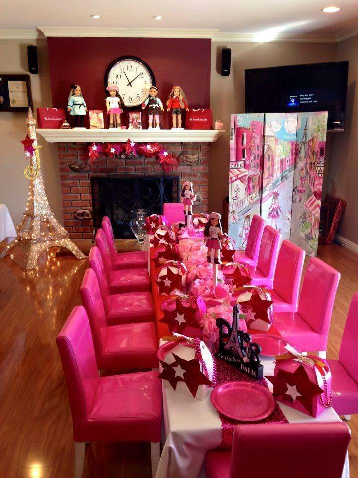 American Girl  Birthday Party Ideas | Photo 5 of 10