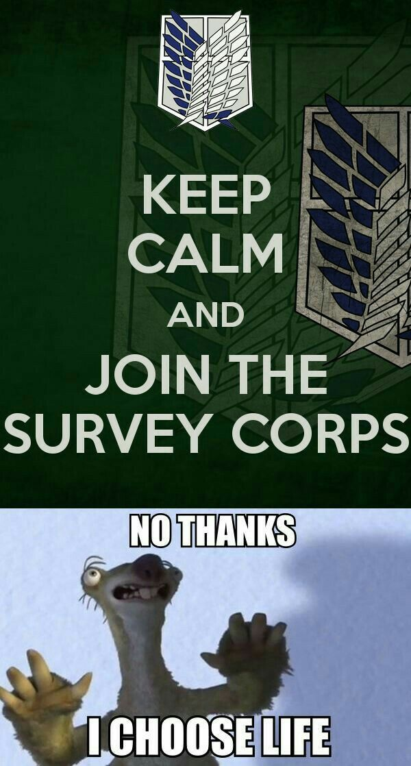 Join the Survey Corps!