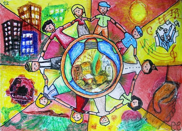 Un World Food Programme Drawing For Kids Drawings Art Inspo