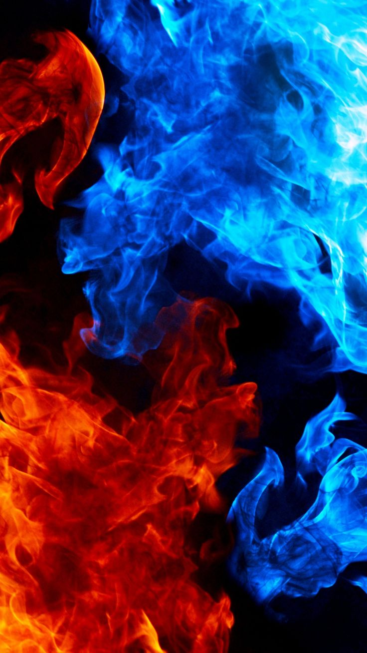tap image for more abstract wallpapers red vs blue smoke