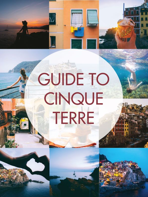 The ultimate guide to Cinque Terre, including where to eat, stay and take photos at these five gorgeous little seaside towns on the coast of Italy!