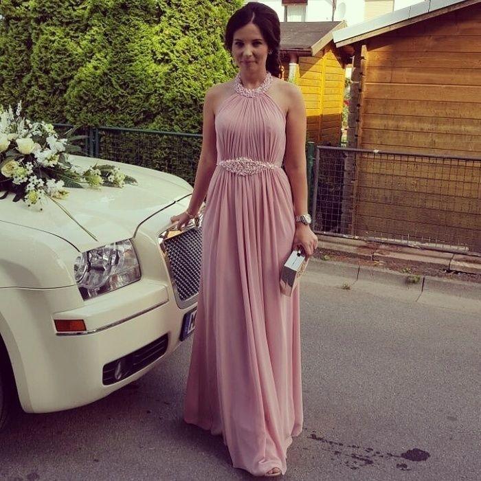 Abendkleider Altrosa Valentins Day Abendkleid Rosa Abendkleid Brautjungfern Kleider