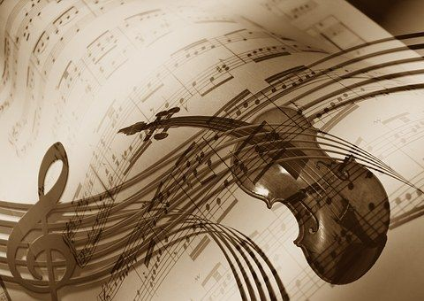 Music, Husle, Husľový Kľúč, Zvuk