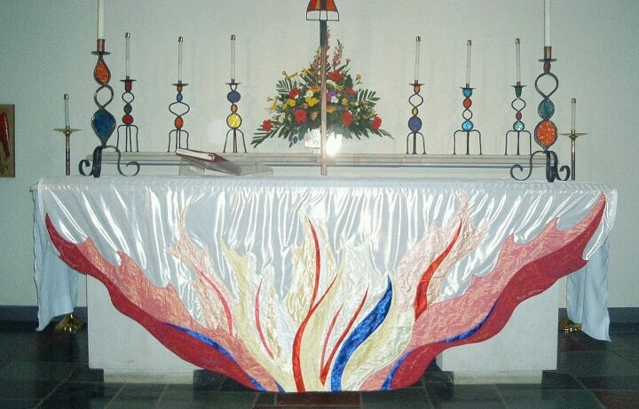altar decoration with cloth 19 best images about liturgical creations on 10339