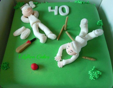 It's just not cricket!  Cake by Lilyroo