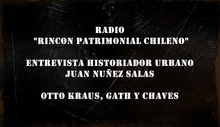 3ER CAPITULO  OTTO KRAUS GATH Y CHAVES