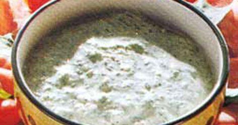 Kall sås med avokado - Recept | Arla
