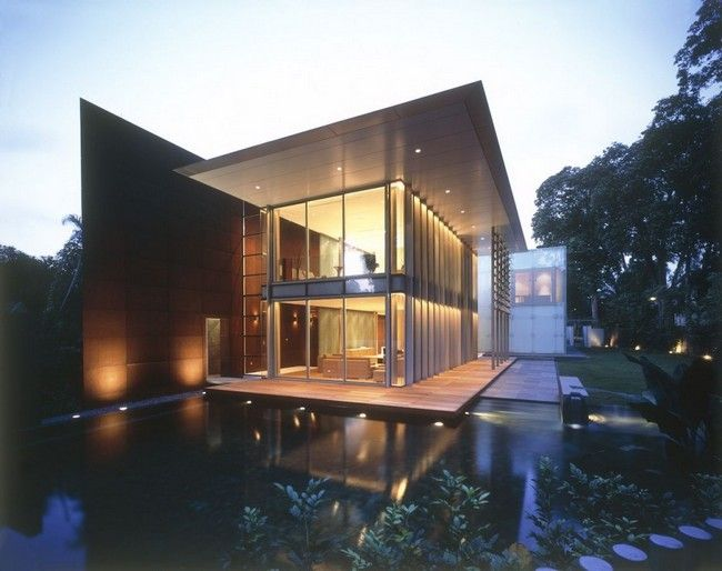 Hb design completed the whitehouse park house located in singapore