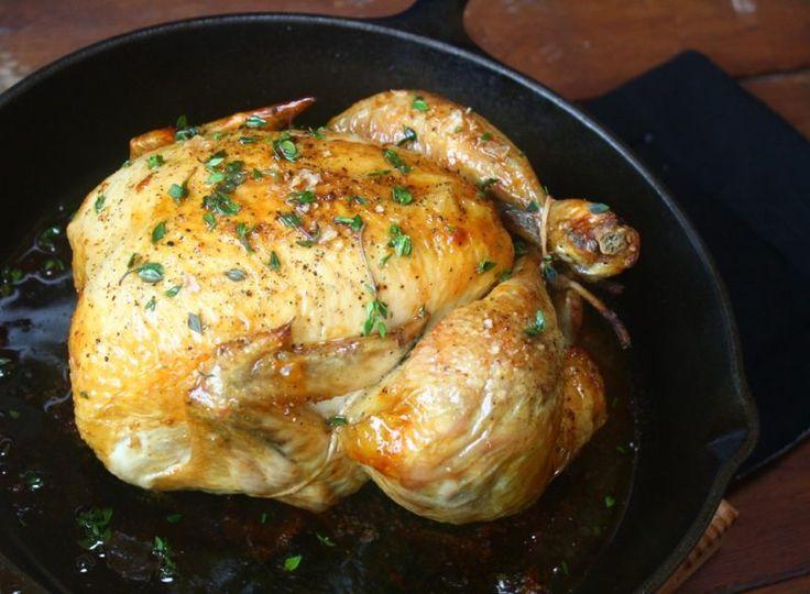 Thomas Keller's easy roast chicken