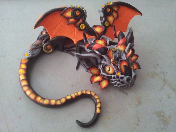 Sinister+Baby+Dragon+by+MakoslaCreations+on+Etsy