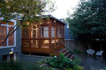 back yard porch design