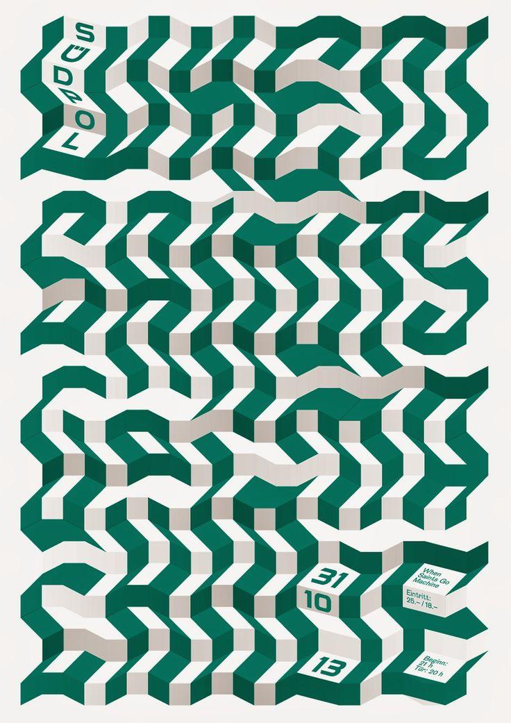 Südpol-Plakate: Felix Pfäffli #graphic #design #poster