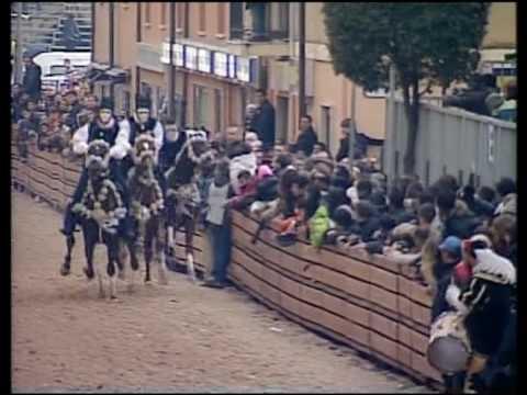 Sa Sartiglia of Oristano, Sardinia - year 2010 - the acrobatic spans