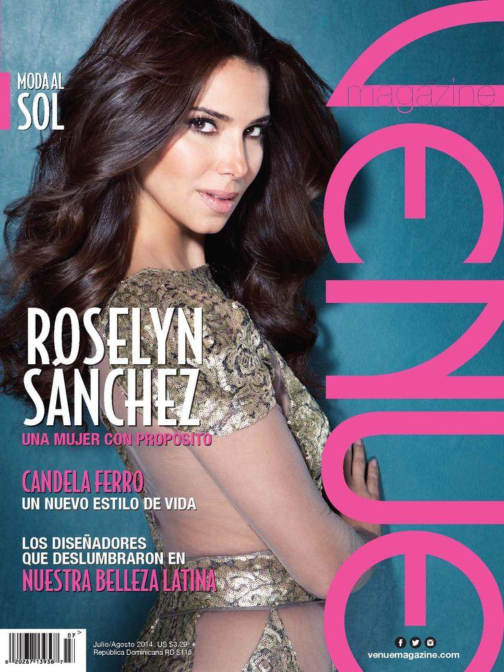 Розалин Санчес (Roselyn Sanchez) в журнале «Venue» #РозалинСанчес #RoselynSanchez