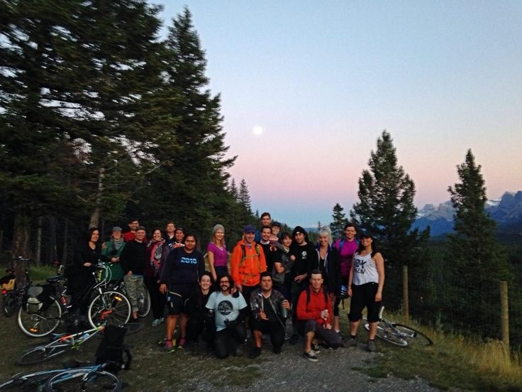 Big gang out for our Bow Valley Invasion! Embedded image permalink