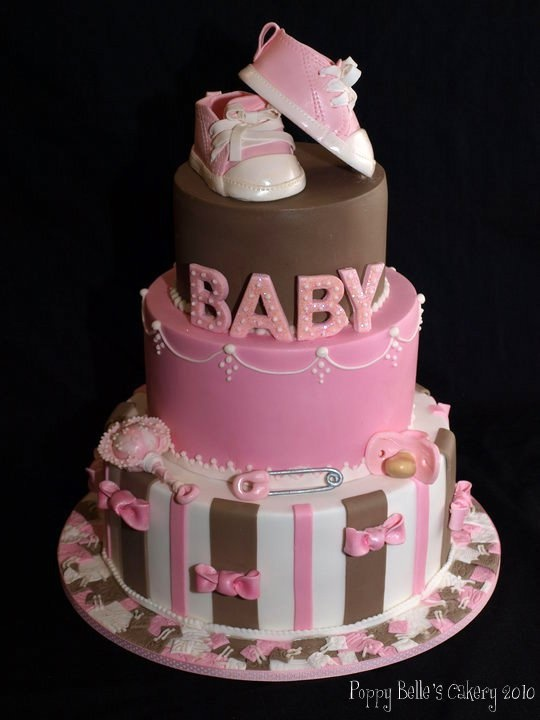 best baby bootie cakes images on   baby shower cakes, Baby shower invitation